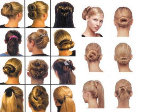 Заколки для волос Хэагами Hairagami Bun Tail [2шт.], фото 2