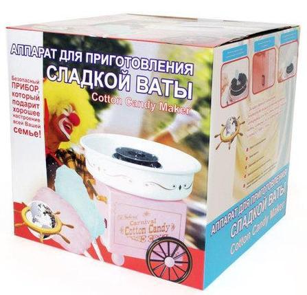 Аппарат для приготовления сахарной ваты Carnival Cotton Candy Maker, фото 2