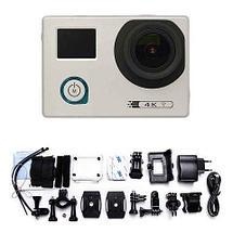 Экшен-камера SPORTS 4K {аналог GoPro Hero5} с двумя экранами, Wi-Fi и с набором аксессуаров, фото 2