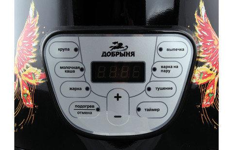 "Мультиварка ""Добрыня"" с изображением жар-птицы DO-1007, фото 2"