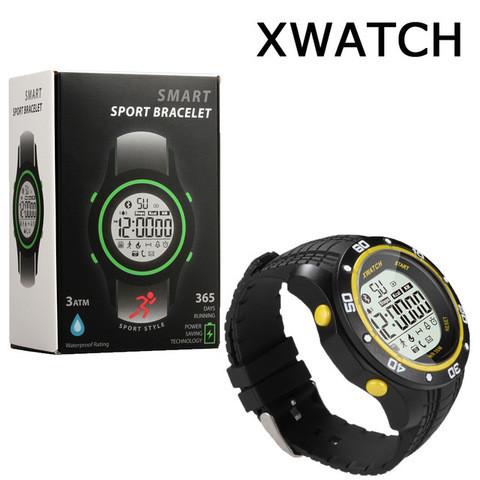 Смарт-часы для спорта водонепроницаемые XWatch (Черный)