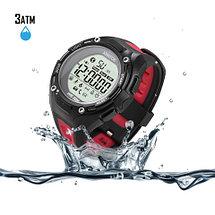 Смарт-часы для спорта водонепроницаемые XWatch (Черный), фото 2