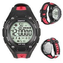 Смарт-часы для спорта водонепроницаемые XWatch (Черный), фото 3