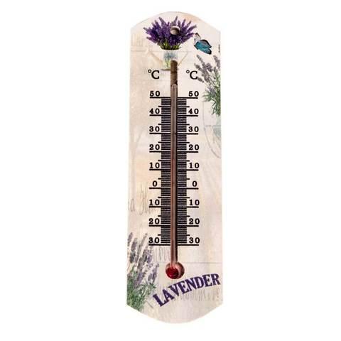 Термометр спиртовой комнатно-уличный «Лаванда»