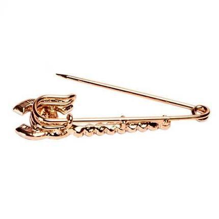 Брошь-булавка «Шанель в золоте», фото 2