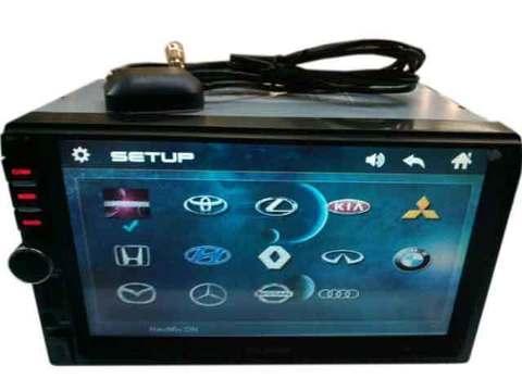 """Автомагнитола DHD-pioneer 7768 [2 DIN / 7""""–дисплей / громкая связь / GPS / USB / SD / AUX / FM] с пультом управления"""