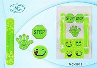 Набор светоотражающих наклеек MIRACULOUS [9 шт.] MC-3618