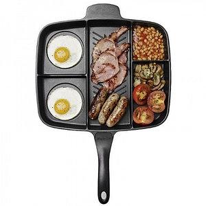 Сковорода-гриль универсальная Magic Pan с пятью секциями