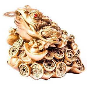 Сувенир-талисман для привлечения денег «Трёхпалая жаба фэн-шуй»