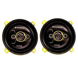 Колонки автомобильные KONGJI'ANS E5-AD504 коаксиальные четырёхполосные (Диаметр 13 см)