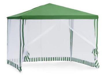 Тент-шатёр садовый с москитной сеткой и стенками [3х3х2.5 м]