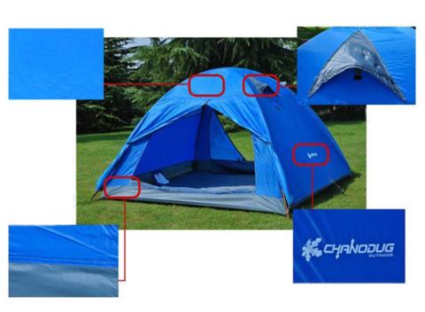 Палатка кемпинговая CHANODUG FX-8923 [3-х местная], фото 2