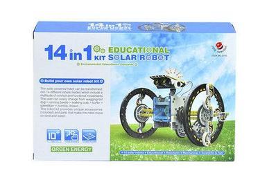 Конструктор Educational Solar Robot Kit на солнечной батарее 14 в 1