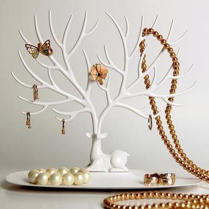 Органайзер-подставка для украшений и аксессуаров в виде оленя «My Little Deer Tray», фото 2