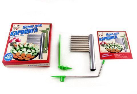 Набор ножей для карвинга, фото 2