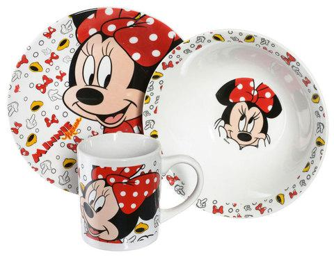 """Набор детской посуды Luminarc Disney """"Minnie Mouse"""" [3 предмета] 70165"""