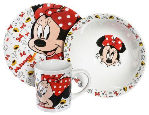 """Набор детской посуды Luminarc Disney """"Minnie Mouse"""" [3 предмета] 70165, фото 2"""
