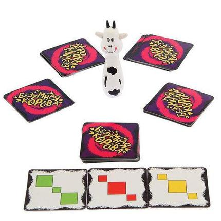 Игра настольная на скорость и внимание «Безумная корова», фото 2