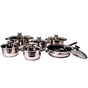 Набор кухонной посуды ZEPTER INTERNATIONAL ZT-1196 [12 предметов]