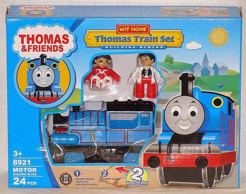 Конструктор с железной дорогой «Томас и его друзья» со звуковыми и световыми эффектами, фото 2
