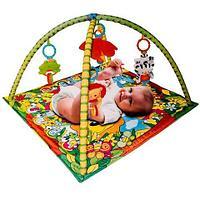 Коврик развивающий для детей с игрушками «Lovely Toy»