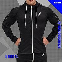 Спортивная куртка Doyoueven черная, фото 1