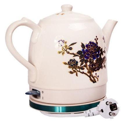 Чайник электрический из фарфора с изменяющейся цветовой гаммой [1100 Вт; 1,5 л], фото 2