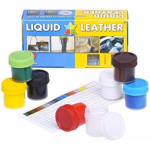 Средство для ремонта кожаных изделий LIQUID LEATHER [Жидкая кожа – 7 цветов]