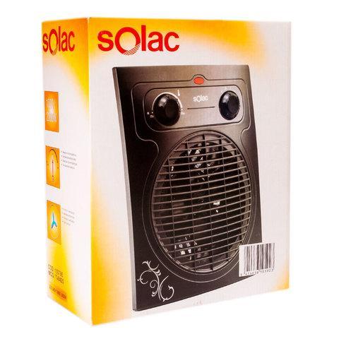 Тепловентилятор электрический с защитой от влаги SOLAC [1000-2000 Вт]