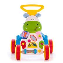 "Ходунки-каталка Bambi ""Hippo Toddle"" со звуковыми эффектами, фото 2"