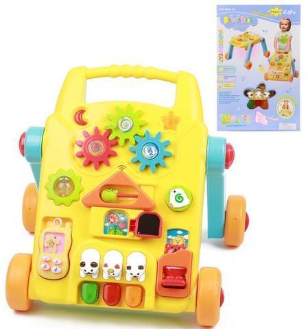 Ходунки-столик Baby's First Friend со звуковыми эффектами и подсветкой