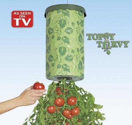 Плантатор для овощей и фруктов Topsy Turvy, фото 2