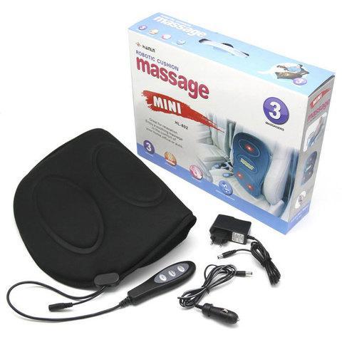 Массажер поясничного отдела с подогревом и пультом управления Robotic Cushion Massage