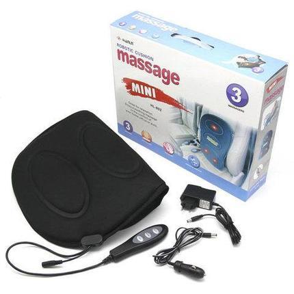 Массажер поясничного отдела с подогревом и пультом управления Robotic Cushion Massage, фото 2