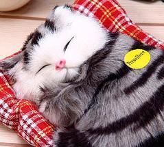 Игрушка «Спящий котенок», фото 2
