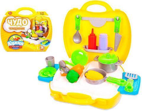Игровой набор «Чудо-чемоданчик Кухня» ABtoys [26 предметов], фото 2