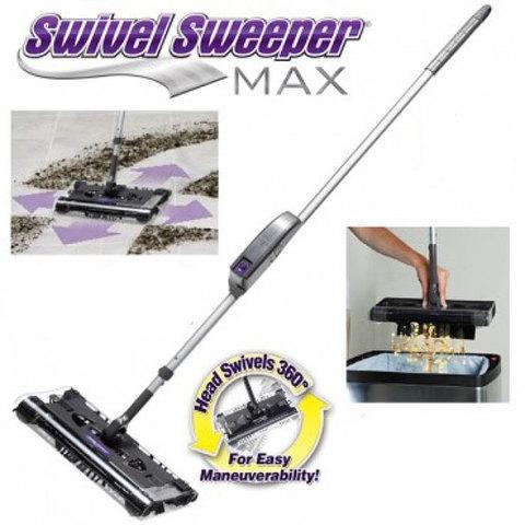 Электровеник Swivel Sweeper BLACK MAX