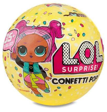 """Игрушка L.O.L Surprise CONFETTI POP """"Кукла-сюрприз в шарике"""" [качественная реплика], фото 2"""