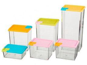 Набор контейнеров для сыпучих продуктов [6 штук], фото 2