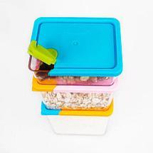 Набор контейнеров для сыпучих продуктов [6 штук], фото 3