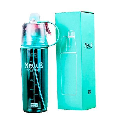 Бутылка для воды спортивная с распылителем New.B