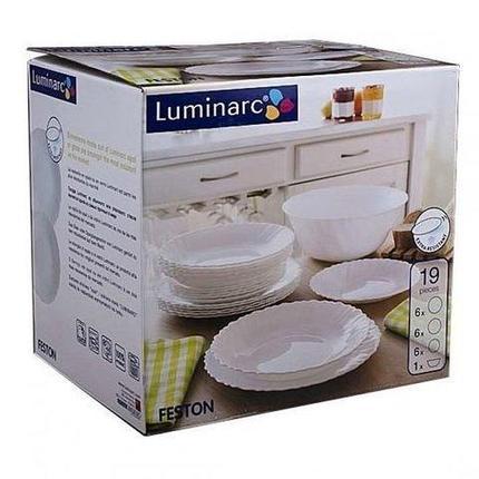 Сервиз столовый Luminarc Feston [19 предметов], фото 2