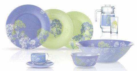 Сервиз столовый Luminarc Ambiante Purple  [52 предмета]