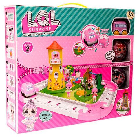 Игровой набор «Волшебный замок» с куклами L.O.L . Surprise [качественная реплика]