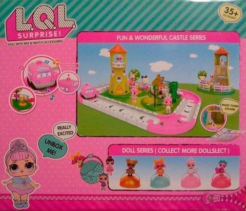 Игровой набор «Волшебный замок» с куклами L.O.L . Surprise [качественная реплика], фото 2