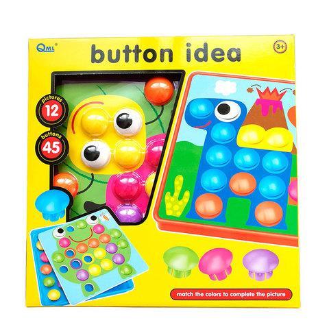 Мозаика для маленьких Button Idea с крупными элементами