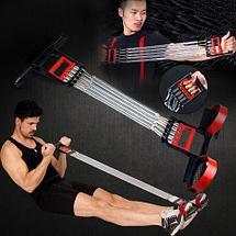 Эспандер 5-в-1 многофункциональный «Стальные мышцы» 2 HENG, фото 2