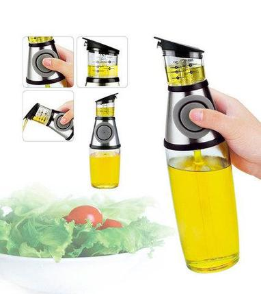 Бутылка-дозатор с распылителем для масла и уксуса DEKANG, фото 2