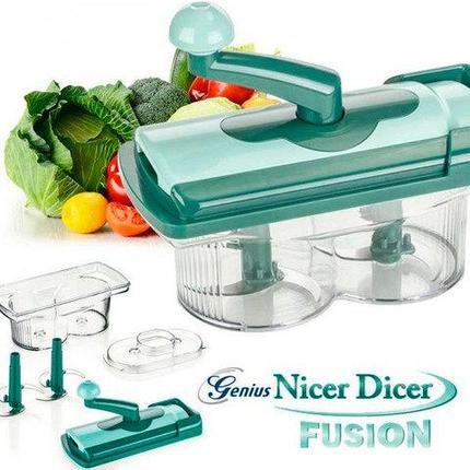 Измельчитель Genius Nicer Dicer TWIST + диск с рецептами, фото 2