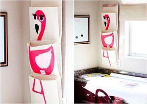 Органайзер для мелочей настенный «Фламинго», фото 3